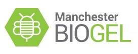 Manchester BIOGEL logo.