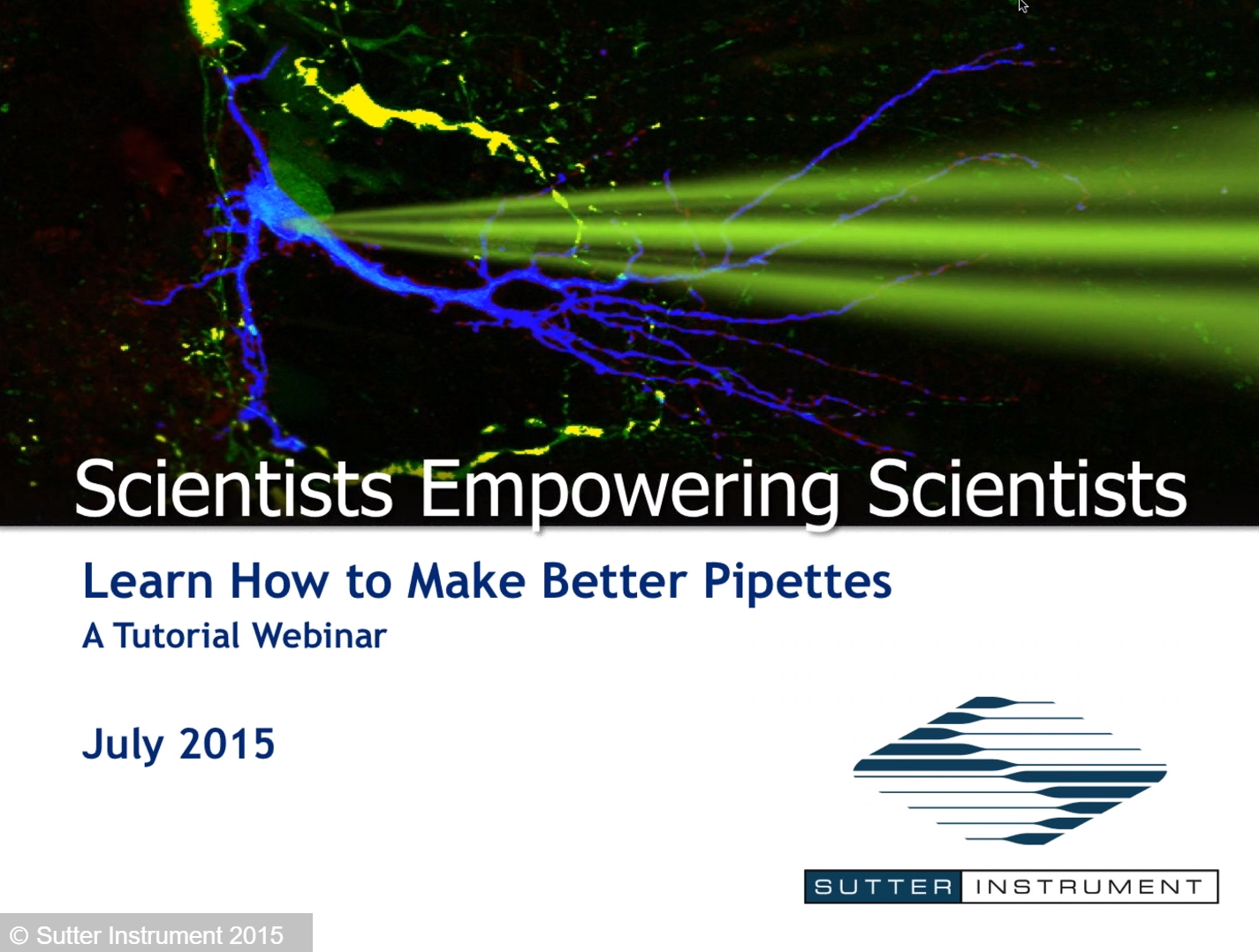 How To Make Better Pipettes-Scientists Empowering Scientists