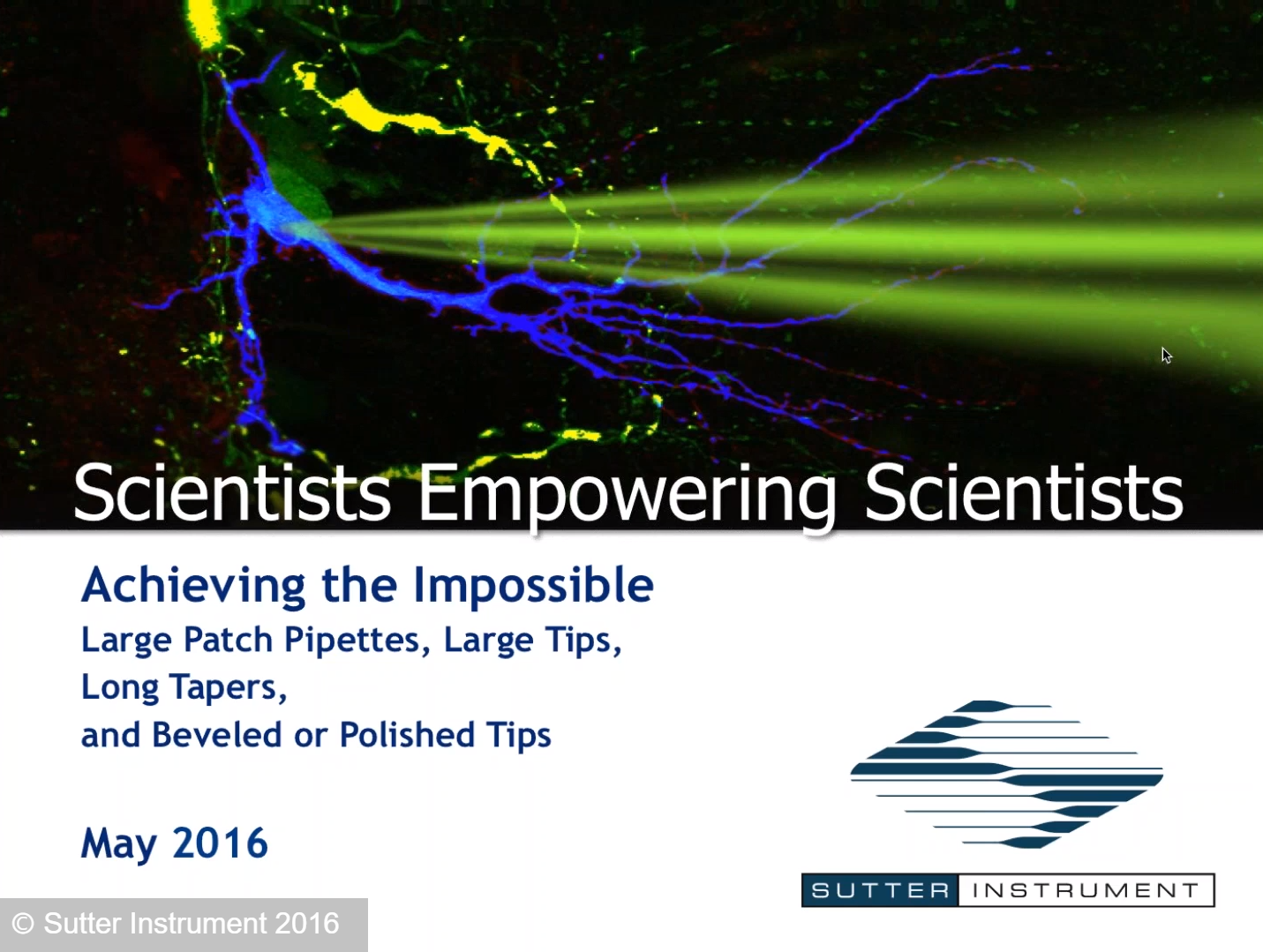 Achieving the Impossible - Scientists Empowering Scientists