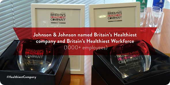 Johnson & JOhnson named Britain