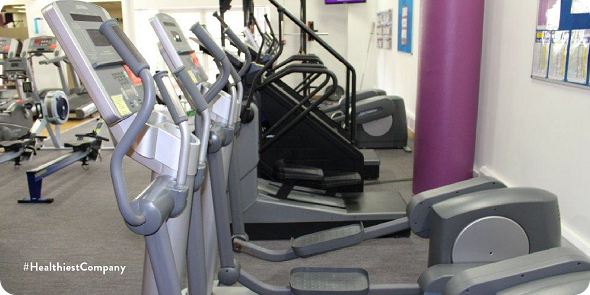 Gym and fitness center within Johnson and Johnson