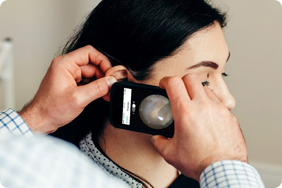 otoscope do smartphone