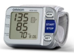 Wrist Blood Pressure Monitor with A.P.S.® HEM-650 from Omron