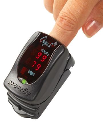 Onyx II Model 9560 Wireless Fingertip Pulse Oximeter from Nonin Medical