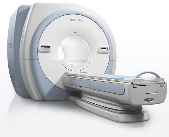 Vantage Titan 3T MRI Scanner from Toshiba