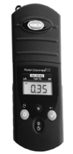 Pocket Colorimeter II from Hach