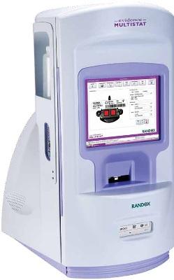 Evidence Multistat Biochip Analyzer from Randox