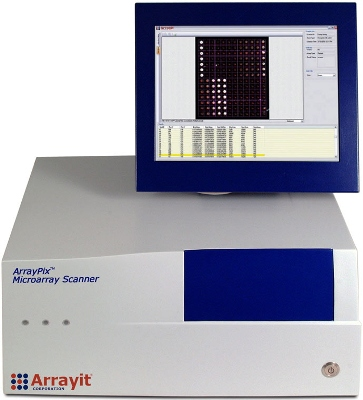 ArrayPix Microarray Fluorescence and Colorimetric Plate Scanners from Arrayit