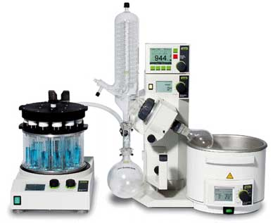 Rotavapor R-210/R-215 Laboratory Evaporator from Buchi