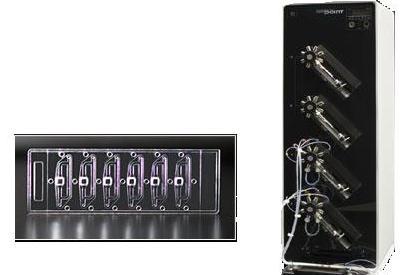 cellTRAY Microfluidics System from Nanopoint