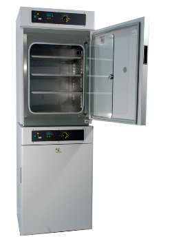 3025 Over/Under Chamber Water-Jacketed Incubator from Shel lab