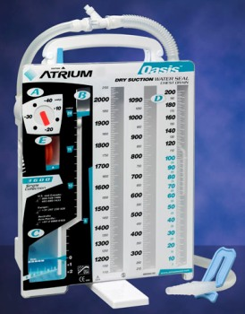 Oasis Dry Suction Water Seal Drain from Atrium