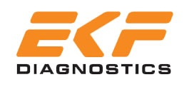 EKF Diagnostics logo.