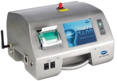 Typical particle counter