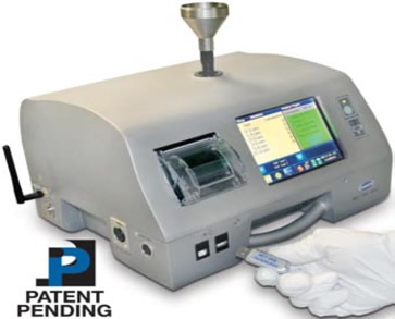Paperless particle counter