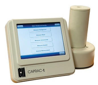 Capintec's CAPRAC-t Wipe-Test Counter