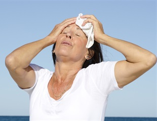 Hot flashes associated with decreased verbal memory