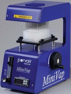 MiniVap from Porvair Sciences
