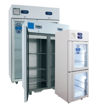 BlueLine K-LAB 2T Vertical Refrigerator from KW Apparecchi Scientifici