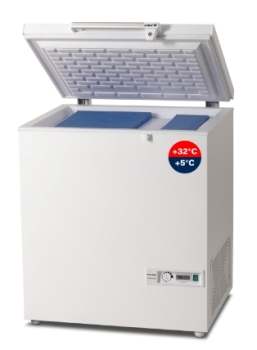 MKF 074 Combined Vaccine Refrigerator and Icepack Freezer from Vestfrost
