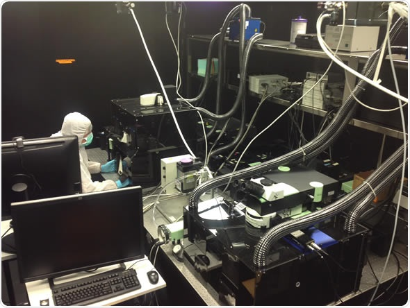 The Intravital Microscopy facility incorporating the LaVision BioTec