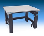 Tabletop design offers greater stability, especially for small laboratory tables