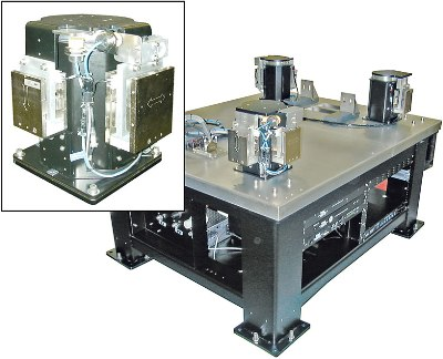 TMC's Electro-Damp II Active Pneumatic Vibration Damping System