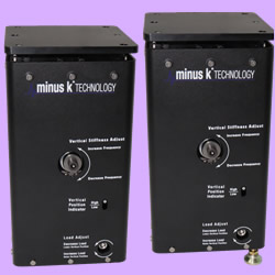 Minus K's New LC-4 Ultra Compact Low Frequency Vibration Isolator