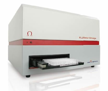 BMG LABTECH's multidetection microplate reader FLUOstar Omega has shaking and incubation features that facilitate the RT-QuIC prion seeding assay.