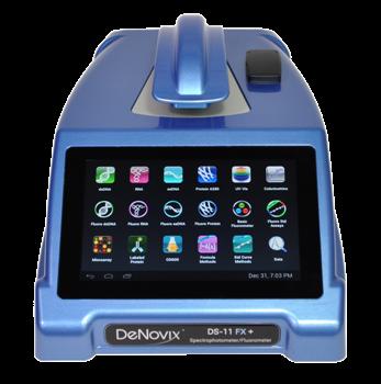 DS-11 Series Spectrophotometer / Fluorometer from DeNovix