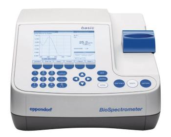 BioSpectrometer® from Eppendorf