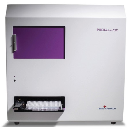 The PHERAstar FSX. The new gold standard for HTS featuring simultaneous dual emission detection.