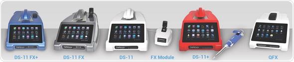 DeNovix DS-11 FX Series of Spectrophotometers  / Fluorometers
