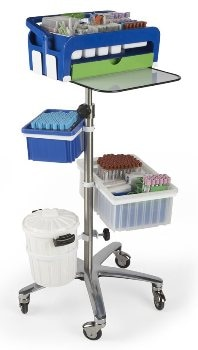 Sample Collection Cart from Heathrow Scientific