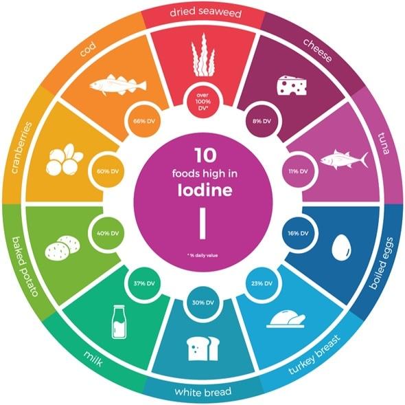 Iodine Rich Foods