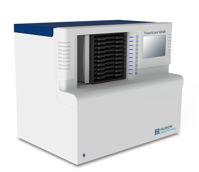 TissueScope LE120 Whole Slide Scanner. Image Credit: Huron Digital Pathology