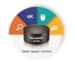 Olympus' 18-megapixel SC180 camera produces clear, crisp images at all magnifications