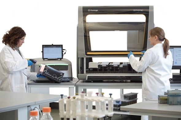 Promega this week introduced its new modular nucleic acid preparation system that allows labs of all sizes to adapt to changing workflows.