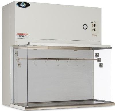 NuAire's AireGard ES NU-201 Table Top Horizontal Laminar Airflow Workstation