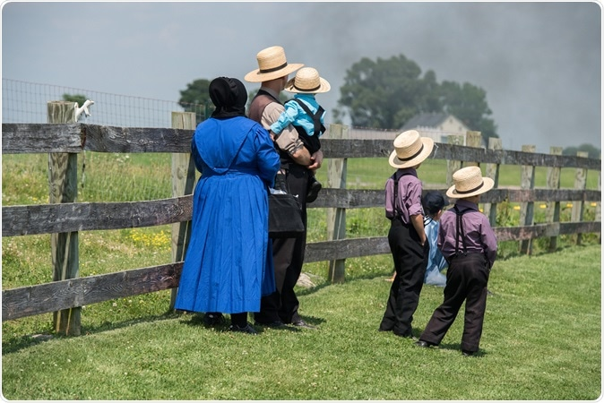 Amish people. Image Credit: Andrea Izzotti / Shutterstock