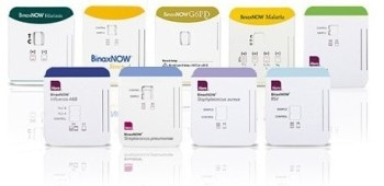 BinaxNOW® Rapid In Vitro Diagnostic Tests from Alere