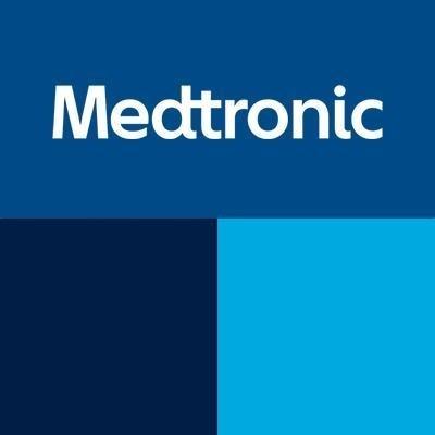 Medtronic logo.