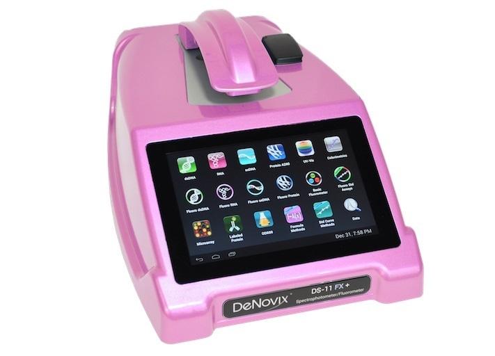 Pink spectrophotometer winner