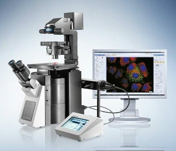 IX83 Fully-Motorized and Automated Inverted Microscope from Olympus Life Science Solutions