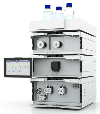 Knauer's AZURA Lab Prep LC 50 HPG System