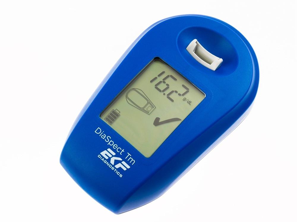 DiaSpect Tm: Palm-sized Hemoglobin Analyser from EKF Diagnostics