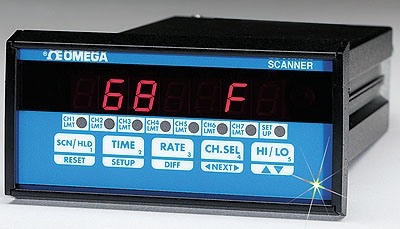 OMEGA Engineering's 1/8 DIN 4-Zone & 7-Zone Temperature Controllers