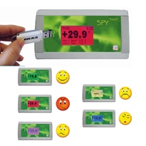 SPY ToucH' U Temperature Monitoring Recorder from JRI