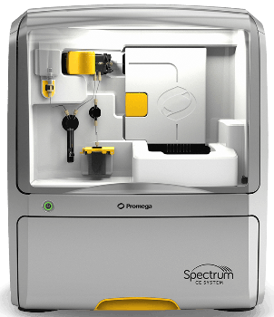 Promega's Spectrum CE System for Forensic and Paternity Labs