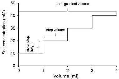 Step gradient definition
